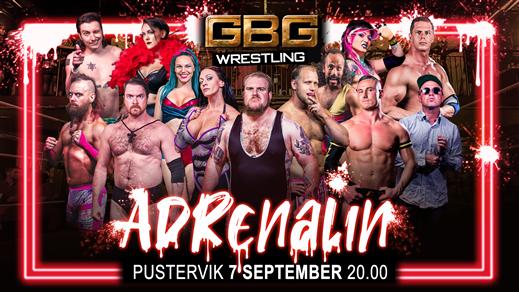 Bild för GBG Wrestling - Adrenalin, 2019-09-07, Pustervik