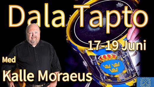 Bild för Dala Tapto med Kalle Moraeus 2021 19/6 19:00, 2021-06-19, Dalregementet, Falun