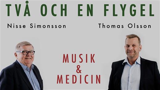Bild för Två Och En Flygel, 2018-11-02, Storsjöteatern Östersund