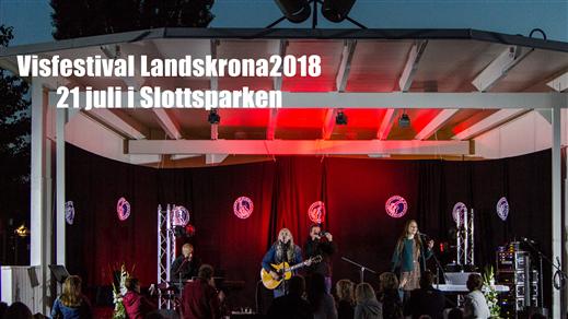 Bild för Visfestival Landskrona 2018, 2018-07-21, Slottsparken