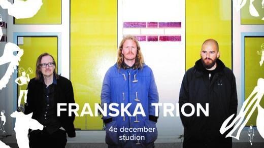 Bild för Julfest med Franska Trion, 2020-12-04, Studion, Umeå Folkets Hus