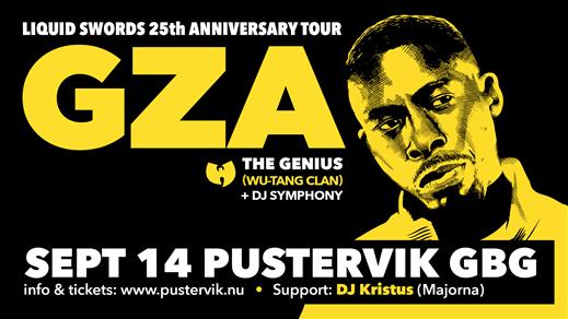 Bild för GZA/The Genius (Wu-Tang Clan), 2020-09-14, Pustervik