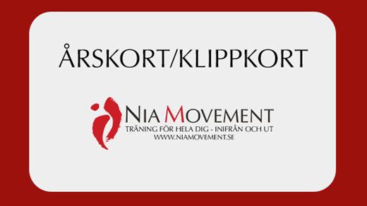 Bild för Medlemskap Nia Movement, 2020-03-25, Nia Movement Center