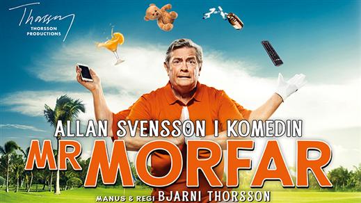 Bild för Mr Morfar med Allan Svensson, 2019-11-16, Folkets Hus Motala Teatersalongen