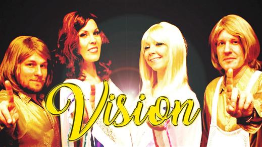 Bild för VISION - A TRIBUTE TO ABBA, 2021-04-24, Teatersalongen i Spira
