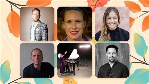 """Bild för Musikal """"Från Broadway med kärlek"""", 2020-10-31, Teater Salongen"""
