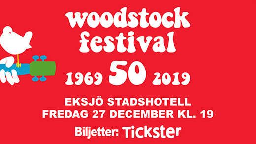 Bild för Eksjö  Woodstock Festival, 2019-12-27, Eksjö Stadshotell