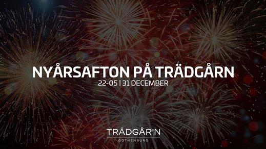 Bild för NYÅRSAFTON på TRÄDGÅRN, 2018-12-31, RESTAURANG TRÄDGÅR'N