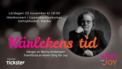 Bild för Höstkonsert Sing for Joy, 2019-11-23, Uppenbarelsekyrkan Saltsjöbaden