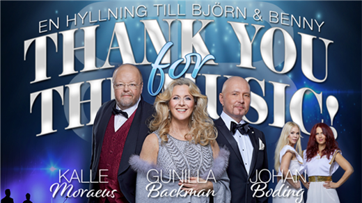 Bild för Thank you for the music, 2019-11-15, Aula Nordica