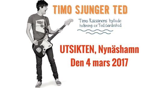 Bild för Timo hyllar Ted, 2017-03-04, Utsikten Meetings