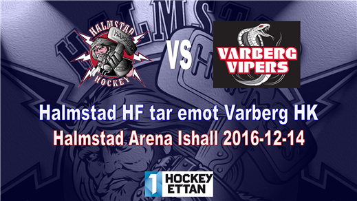 Bild för Halmstad HF vs. Varberg HK, 2016-12-14, Halmstad Arena