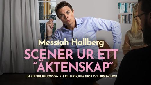 """Bild för Messiah Hallberg - Scener ur ett """"äktenskap"""", 2019-09-20, Hjalmar Bergman Teatern"""