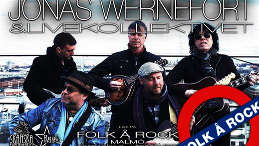 Bild för Jonas Wernefort & Livekollektivet, 2020-08-29, Folk Å Rock