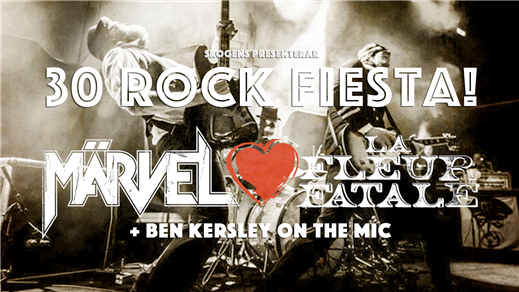 Bild för Märvel & La Fleur Fatale @30 Rock Fiesta, 2018-03-17, Pitchers/The Crypt