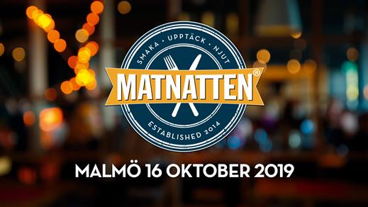 Bild för Matnatten MALMÖ 16 oktober 2019, 2019-10-16, Malmö