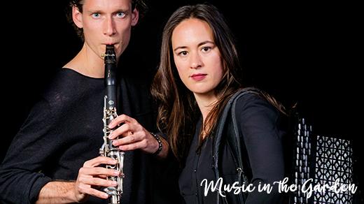 Bild för Magisk afton med Magnus Holmander & Irina Serotyuk, 2021-08-18, Music in the Garden - Botaniska Trädgården