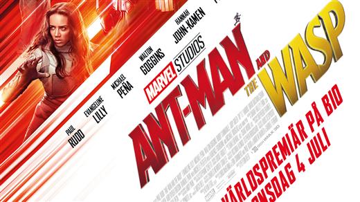 Bild för Ant-Man and the Wasp, 2018-07-08, Kulturhuset Finspång, Stora Salongen