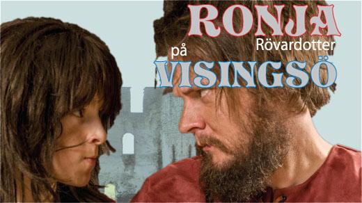 Bild för Ronja Rövardotter, 2019-07-06, Visingsborgs Slottsruin