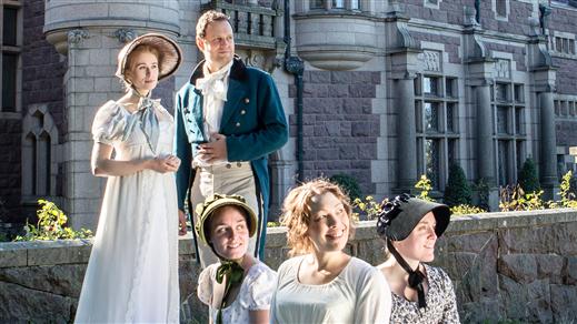 Bild för Temavisningar Jane Austen, 2016-05-10, Tjolöholms Slott