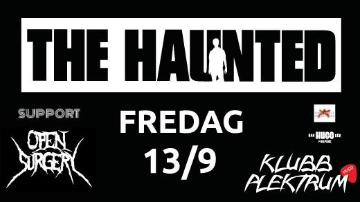 Bild för The Haunted & Open Surgery - Klubb Plektrum, 2019-09-13, Hugo Finspång