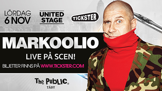 Bild för MARKOOLIO LIVE @ The Public Täby, 2021-11-06, The Public Täby