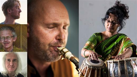 Bild för 211114 Suranjana Ghosh feat. Jonas Knutsson, 2021-11-14, Stallet - Världens Musik
