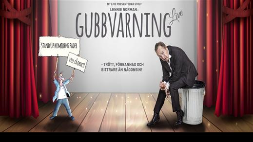 Bild för Lennie Norman – Gubbvarning Live!, 2019-10-26, Holavedsgymnasiets aula