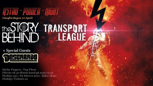 Bild för Transport League, The Story Behind & Descarado, 2020-04-10, Sticky Fingers-Top Floor