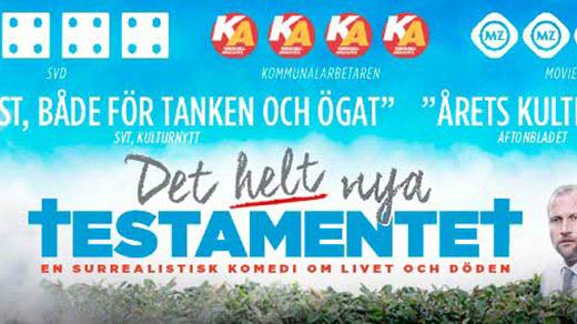 Bild för Eftermiddagsfilm: Det helt nya testamentet, 2016-12-07, Metropolbiografen
