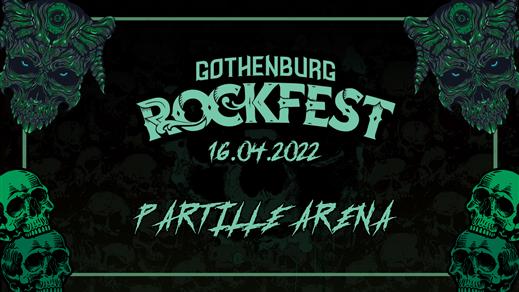 Bild för GOTHENBURG ROCKFEST, 2022-04-16, Partille Arena