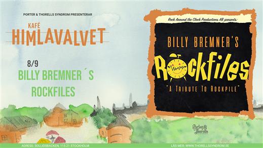 Bild för BILLY BREMNER TRIO – A TRIBUTE TO ROCKPILE, 2021-09-08, Kafé Himlavalvet