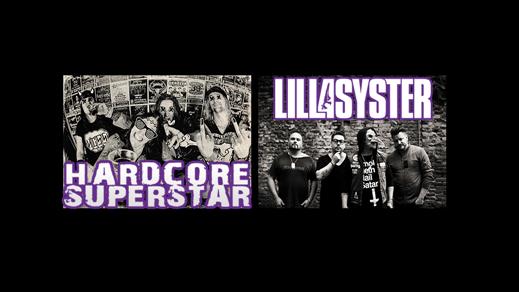 Bild för Hardcore Superstar och Lillasyster - Inställt, 2016-10-22, Parken i Halmstad