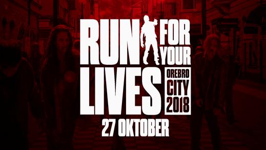Bild för Run For Your Lives Örebro 27 oktober 2018, 2018-10-27, Örebro City