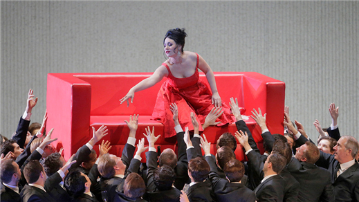 Bild för La Traviata repris, 2017-03-15, Landskrona Teater