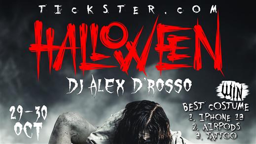 Bild för Halloween Party på O'Learys Falun med Alex D'Rosso, 2021-10-29, O'Learys Falun