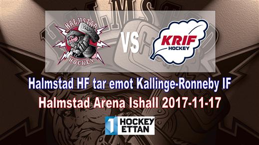 Bild för Halmstad HF vs. Kallinge-Ronneby IF, 2017-11-17, Halmstad Arena