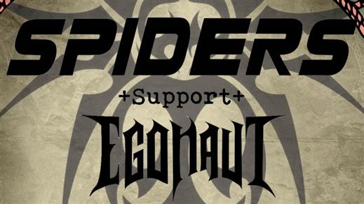 Bild för Spiders & Egonaut + DJ på Klubb Undergrunden 25/8, 2018-08-25, Pumphuset