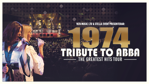Bild för 1974 TRIBUTE TO ABBA - THE GREATEST HITS TOUR, 2020-10-17, Idun, Umeå Folkets Hus