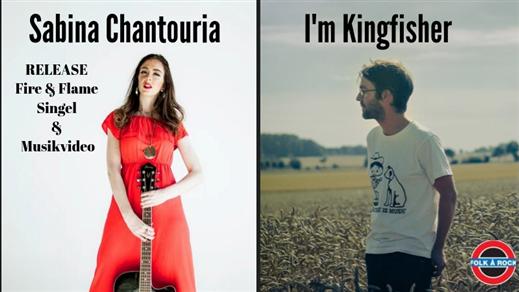 Bild för Sabina Chantouria + I'm Kingfisher, 2019-10-16, Folk Å Rock