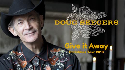 Bild för Doug Seegers - Give it away Christmas tour 2018, 2018-11-29, Hjälmareds Folkhögskola Alingsås