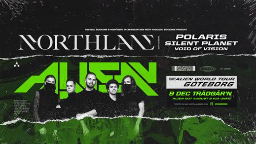 Bild för NORTHLANE | ALIEN WORLD TOUR 2019, 2019-12-09, RESTAURANG TRÄDGÅR'N