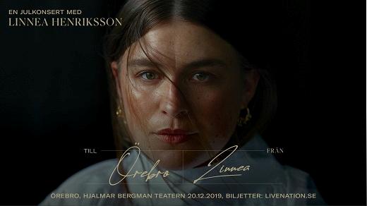 Bild för Linnea Henriksson jul 2019, 2019-12-20, Hjalmar Bergman Teatern