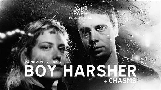 Bild för Boy Harsher + Chasms, 2019-11-24, Hus 7