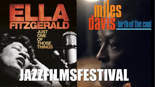 Bild för JAZZFILMSFESTIVAL - MILES & ELLA 31/1, 2020-01-31, Forum 2, Folkets Hus Kulturhuset