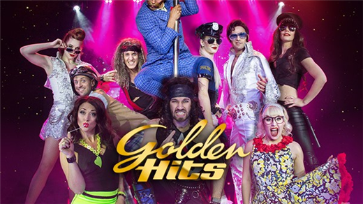 Bild för Golden Hits - Rockshowen Jul 2018, 2018-12-20, Golden Hits, En trappa upp
