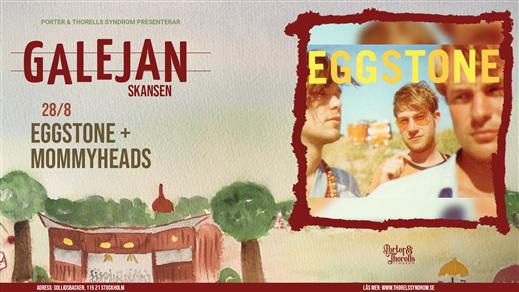 Bild för Eggstone + support: The Mommyheads, 2021-08-28, Galejan, Skansen