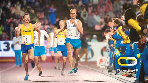 Bild för Finnkampen 24-25 Augusti 2019, 2019-08-24, Stockholms Stadion
