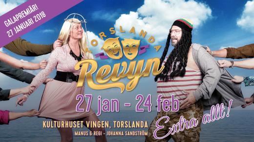Bild för Extra allt - Lördag 3 feb 2018 - 18:00, 2018-02-03, Kulturhuset Vingen