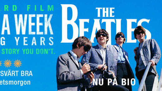 Bild för The Beatles: Eight Days a Week (1h46min), 2016-11-12, Metropolbiografen